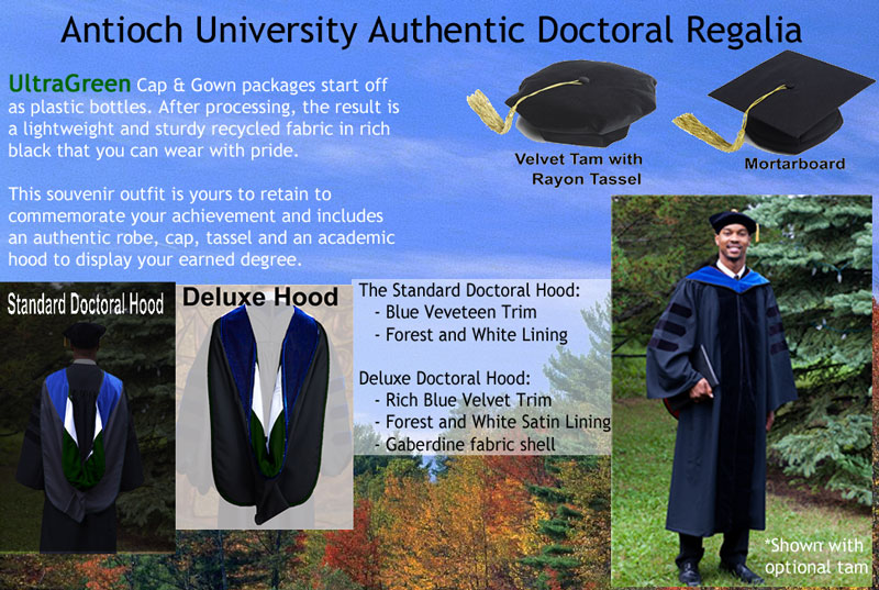 Doctoral Degree Regalia