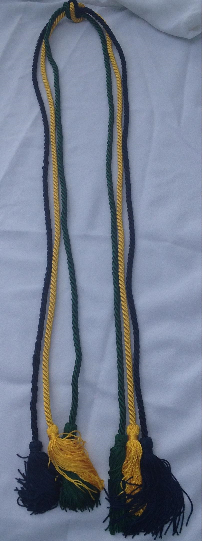 Three Separate Honor Cords