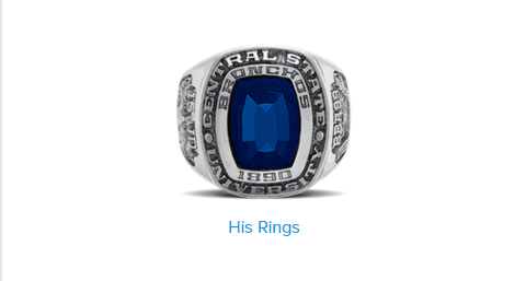 Balfour Graduation Rings