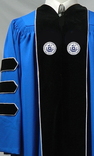 UNH Doctoral Gown